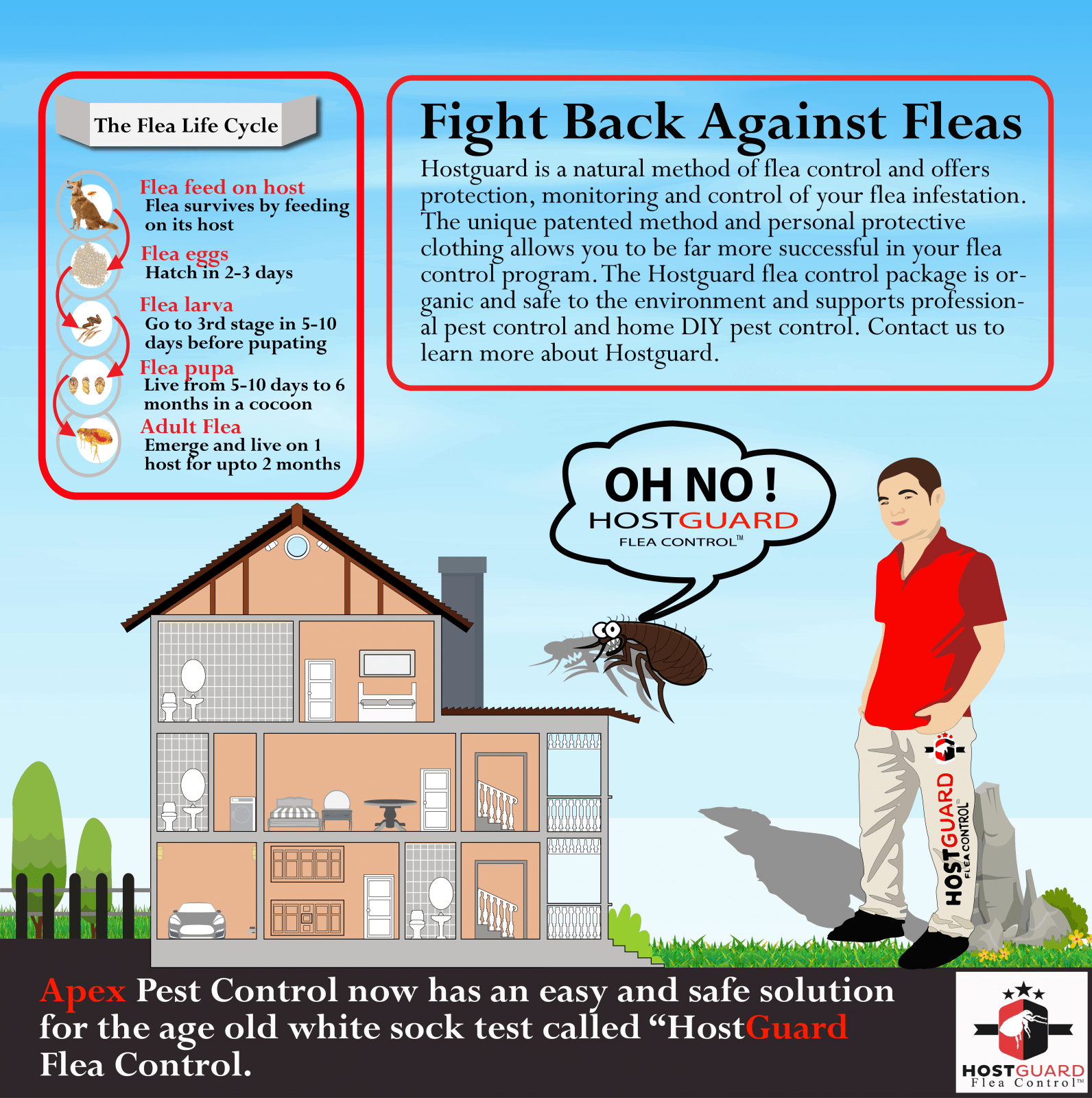 HostGuard Organic Flea Control 3